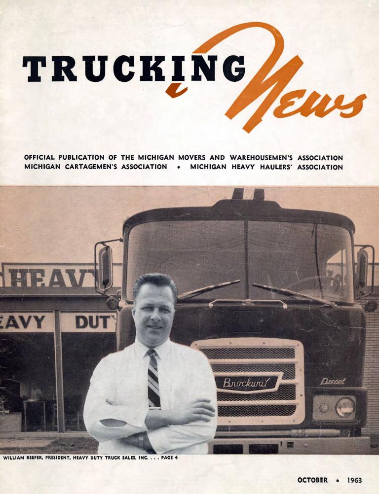 Reefer-Peterbilt_Micigan-Trucking-News_October-1963_Page_1