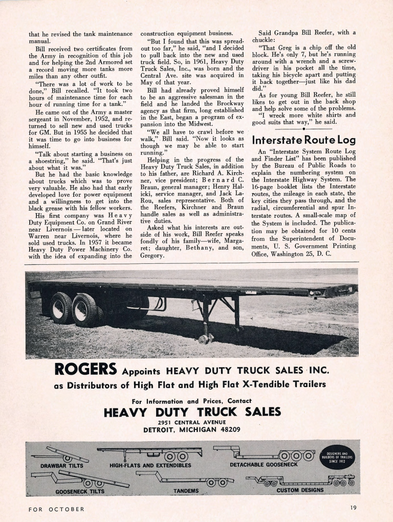 Reefer-Peterbilt_Micigan-Trucking-News_October-1963_Page_5